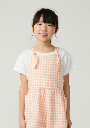 Blusa Infantil Menina Com Fru-fru - Off White